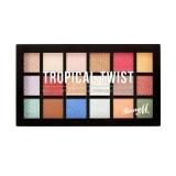 Barry M Cosmetics Baked Eyeshadow Palette Tropical Twist 16 g