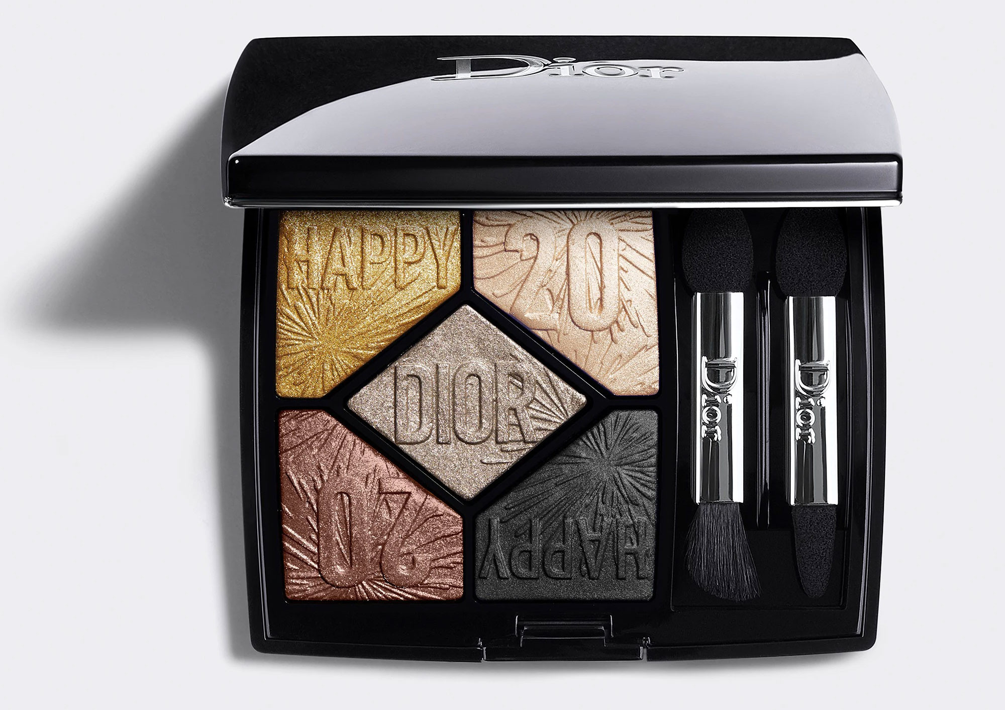 Dior Holiday Look 2019 5 Couleurs Happy 2020 Celebrate In Gold