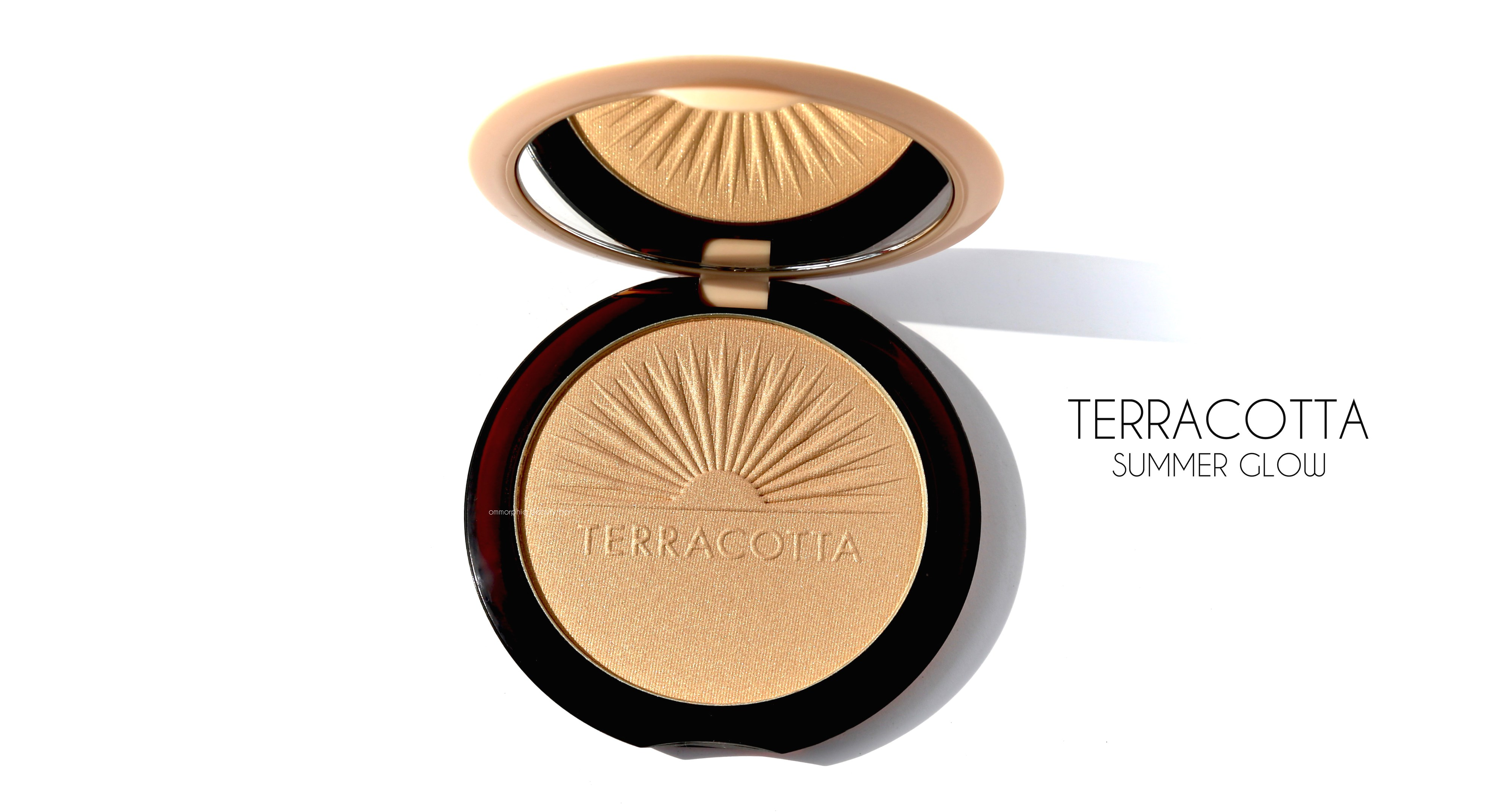 GUERLAIN Terracotta Summer Glow Golden Glow Powder Highlighter 10g