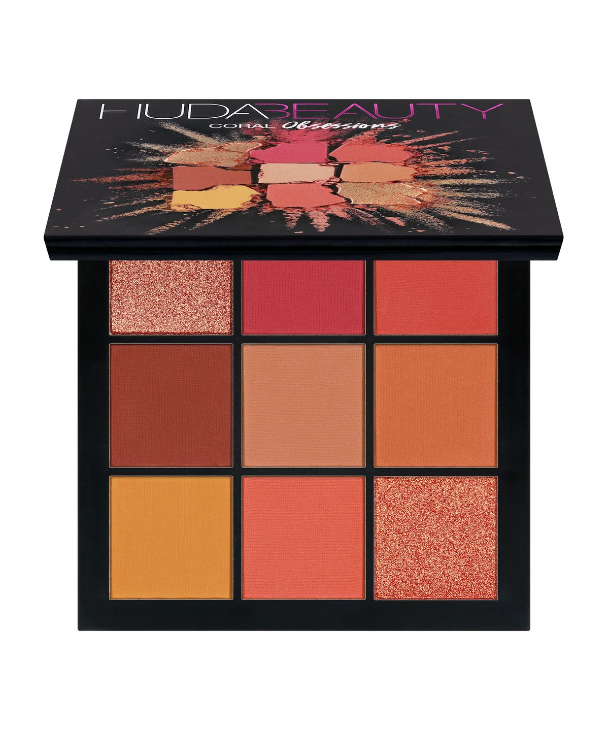 HUDA BEAUTY Coral Obsessions Palette 10g
