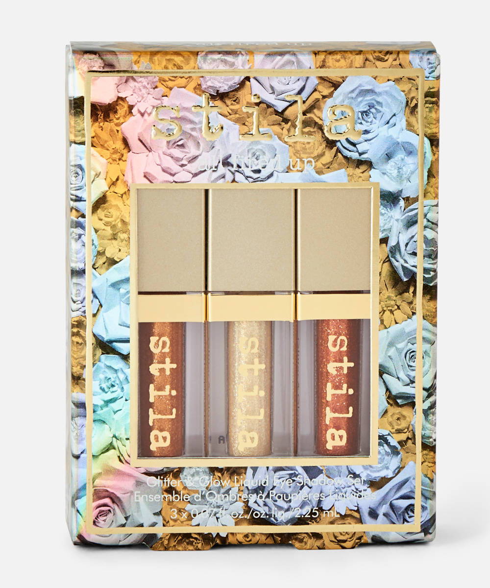 STILA All Fired Up Glitter & Glow Eye Shadow Set